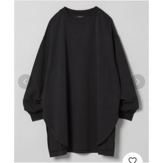 ジーナシス(JEANASIS)のシャツテイルBIGロンT(Tシャツ/カットソー(七分/長袖))