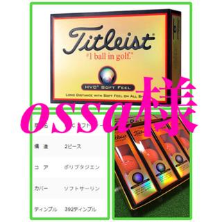 タイトリスト(Titleist)のゴルフボール タイトリスト ソフトフィール オレンジ 1ダース(その他)