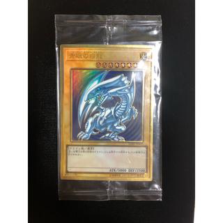 コナミ(KONAMI)の青眼の白龍 ブルーアイズ プレゴル 未開封 プレミアム ゴールド(シングルカード)
