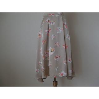 トッカ(TOCCA)のトッカ LILY スカート ベージュ系 2(ひざ丈スカート)