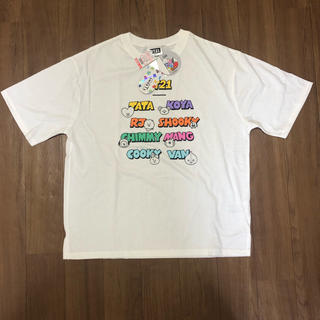 しまむら - 新品・未使用✨   bt21   Tシャツ  Mサイズ しまむら