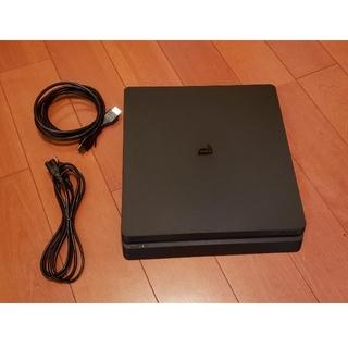 プレイステーション4(PlayStation4)のPS4 本体 500GB CUH-2100AB01 動作確認済 プレステ4(家庭用ゲーム機本体)