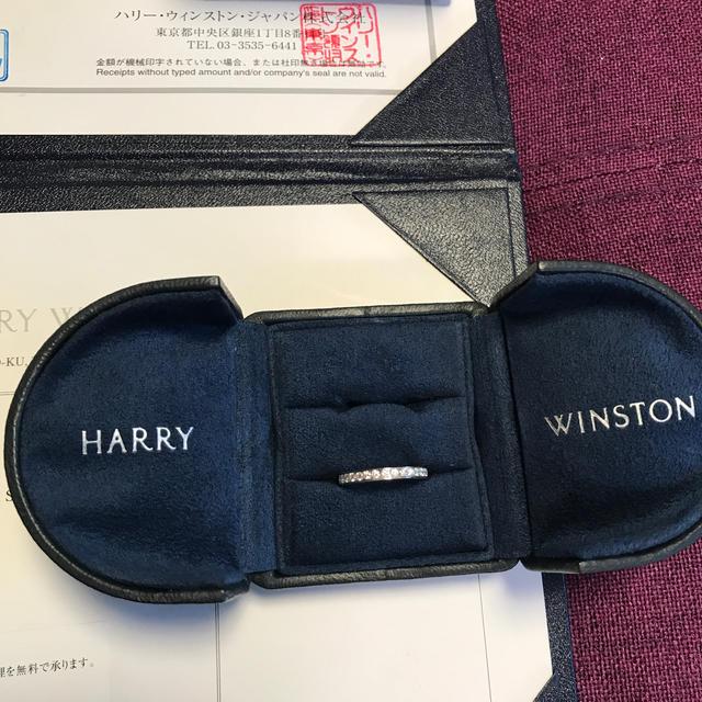 HARRY WINSTON(ハリーウィンストン)のハリーウィンストン ダイヤモンド プラチナエタニティリング レディースのアクセサリー(リング(指輪))の商品写真