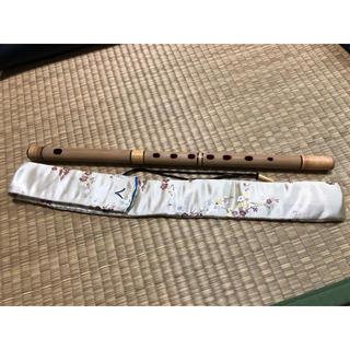 篠笛 八本調子 袋付き(横笛)