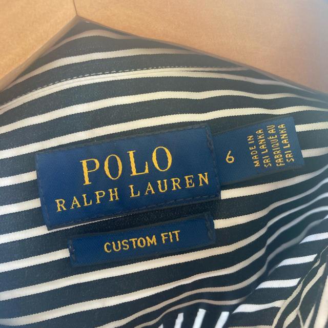 POLO RALPH LAUREN(ポロラルフローレン)のMOMO様 POLO RALPH LAUREN ラルフローレン ストライプシャツ レディースのトップス(シャツ/ブラウス(長袖/七分))の商品写真