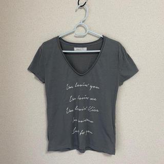ダズリン(dazzlin)のVネック カットソー Tシャツ(Tシャツ/カットソー(半袖/袖なし))
