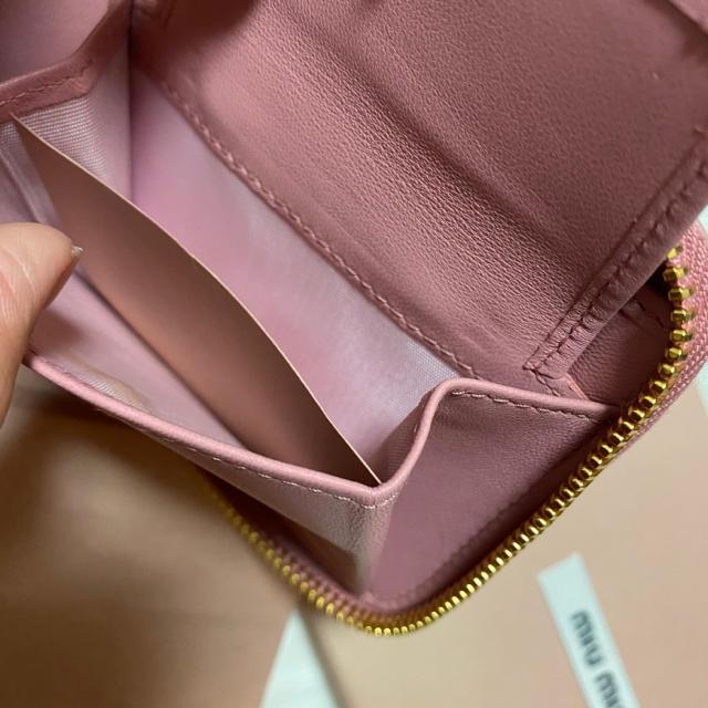 miumiu(ミュウミュウ)の【新品】miumiu 大人気マトラッセデザイン💖 レディースのファッション小物(財布)の商品写真