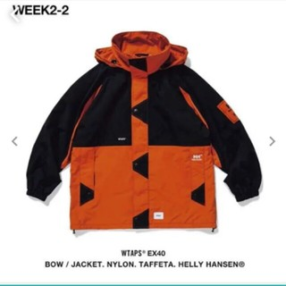 WTAPS × HELLY HANSEN  bow jacket