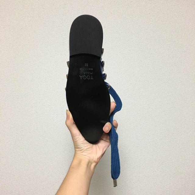 TOGA(トーガ)のTOGA pulla シューズ 試着のみ未使用美品 レディースの靴/シューズ(ローファー/革靴)の商品写真