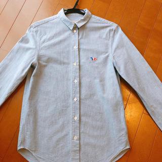 メゾンキツネ(MAISON KITSUNE')の★MAISON KITSUNÉ定番モデルの長袖ワイシャツ★(シャツ/ブラウス(長袖/七分))