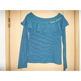 レピピアルマリオ(repipi armario)の☆レピピアルマリオのボーダー長袖Tシャツ☆Mサイズ☆(Tシャツ/カットソー)