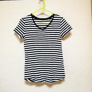 ニッセン(ニッセン)のTシャツ ボーダー 半袖(Tシャツ(半袖/袖なし))