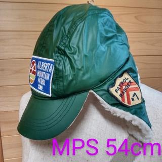 エムピーエス(MPS)のMPS 耳あて帽 耳あて付キャップ  イヤーフラップ 耳付きキャップ 裏ボア帽子(帽子)