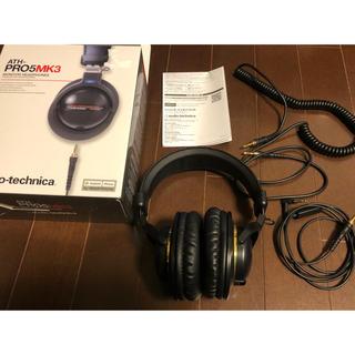 オーディオテクニカ(audio-technica)のaudio−technica ATH-PRO5MK3 BK(ヘッドフォン/イヤフォン)