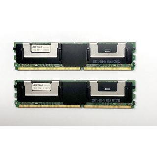 バッファロー(Buffalo)のBUFFALO D2/F667-E1GX2 (Mac Pro対応) 2GB(その他)