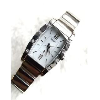 SEIKO - セイコー ルキア ソーラー 腕時計 8Pダイヤ レディース