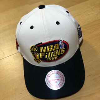 ミッチェルアンドネス(MITCHELL & NESS)の【ミッチェルアンドネス】NBA1998年final キャップ(キャップ)