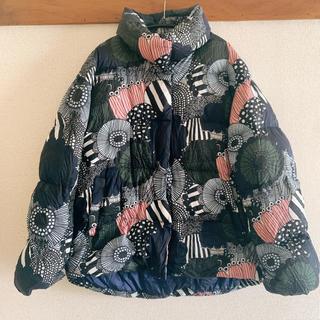 マリメッコ(marimekko)の【送料無料!】ユニクロ マリメッコ コラボダウンジャケット S(ダウンコート)