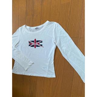 トミーヒルフィガー(TOMMY HILFIGER)のtommy jeans/トミージーンズ/長袖ロゴTシャツ(Tシャツ(長袖/七分))