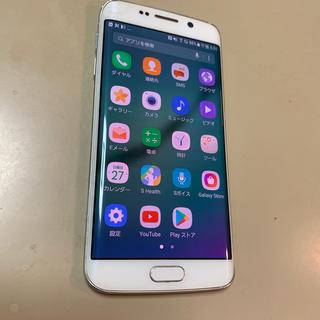 ギャラクシー(Galaxy)のau GALAXY S6 edge(スマートフォン本体)