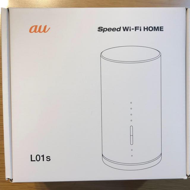 au(エーユー)のau Speed Wi-Fi Home L01s ホームルーター スマホ/家電/カメラのPC/タブレット(PC周辺機器)の商品写真