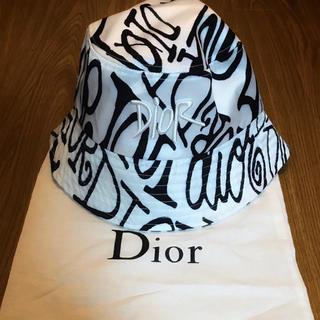 ディオール(Dior)のDIOR × STUSSY バケット ハット ディオール ステューシー ロゴ(ハット)