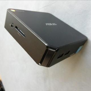 エイスース(ASUS)のASUS chromebox CN60 メモリ4GB版(デスクトップ型PC)