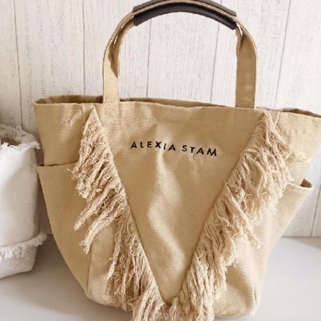 ALEXIA STAM(アリシアスタン)のフリンジバッグ☻ レディースのバッグ(トートバッグ)の商品写真