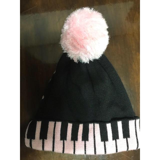 mezzo piano(メゾピアノ)のメゾピアノ ニット帽 キッズ/ベビー/マタニティのこども用ファッション小物(帽子)の商品写真