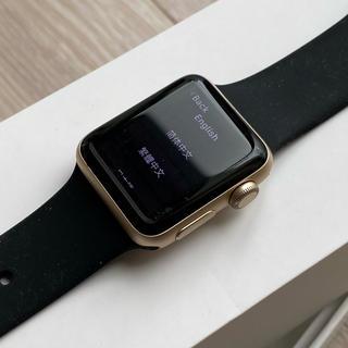 アップルウォッチ(Apple Watch)のApple Watch series2 ゴールドアルミニウム 38mm オマケ付(その他)