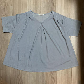 ショコラフィネローブ(chocol raffine robe)のカットソー ブラウス(Tシャツ/カットソー(半袖/袖なし))