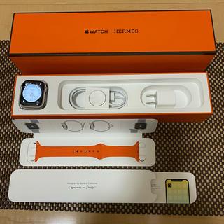 アップルウォッチ(Apple Watch)のApple Watch4エルメス 44mmアップルケア付2022.2月まで!(腕時計(デジタル))