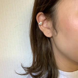 トゥデイフル(TODAYFUL)のラスト再販 pearl ear cuff(ピアス)