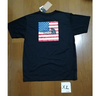 THE NORTH FACE - THE NORTH FACE National Flag Tee 黒XL 未使用