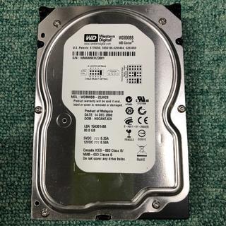 IDE中古HD(完動品) WesternDigital WDCaviar 80.(PCパーツ)