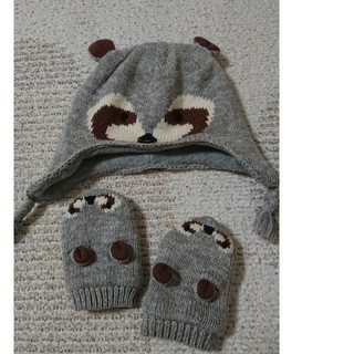 babyGAP - ベイビーギャップ ニット帽 手袋 セット