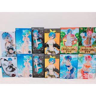 セガ(SEGA)の【新品】リゼロ フィギュア 12点 まとめ売り (送料無料)(アニメ/ゲーム)