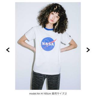エックスガール(X-girl)のX-girl NASA Tシャツ(Tシャツ(半袖/袖なし))