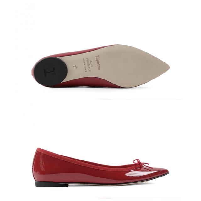 PELLICO(ペリーコ)の【新品⭐️未使用】Lepetto/Brigitteブリジット/red/37.5 レディースの靴/シューズ(バレエシューズ)の商品写真