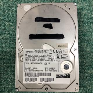 ヒタチ(日立)のIDE中古HD(完動品) HITACHI DeskStar 164GB HDT7(PCパーツ)