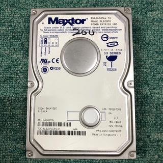 IDE中古HD(完動品) Maxtor DiamondMax10 200G 6L(PCパーツ)