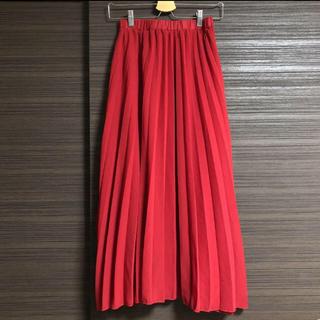 ドゥロワー(Drawer)のMyuプリーツスカート cen mite obli yori rosy meri(ロングスカート)