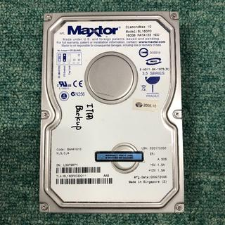 IDE中古HD(完動品) Maxtor DiamondMax10 160G 6L(PCパーツ)