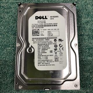 SATA中古HD(完動品) DELL WD1602ABKS 160GB 1908(PCパーツ)