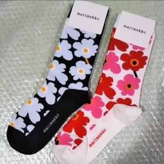 marimekko - マリメッコ ソックス 靴下 2足