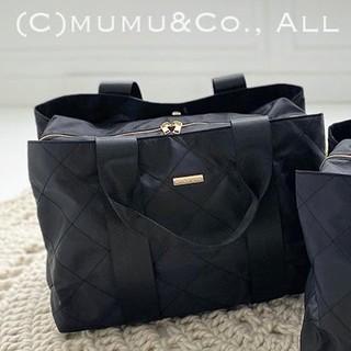 しまむら - mumu トートバッグ 旅行 しまむら ハッピーバック 新品 未使用 大容量