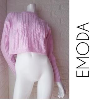 エモダ(EMODA)のM101 EMODA レディース ピンク ニット セーター(ニット/セーター)