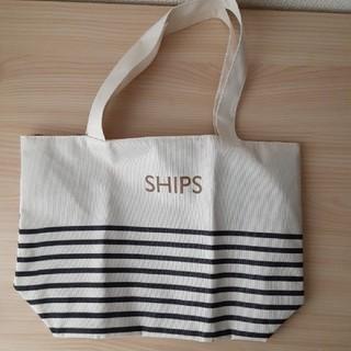 シップス(SHIPS)の付録 SHIPSミニトート リバーシブル(トートバッグ)