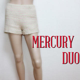 MERCURYDUO - 極かわ♪マーキュリーデュオ 小尻ツイード ショートパンツ♡ダズリン スナイデル
