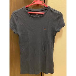 トミーヒルフィガー(TOMMY HILFIGER)のTOMMY HILFIGER Tシャツ レディース ネイビー(Tシャツ(半袖/袖なし))